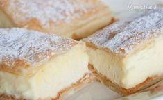 Upečte si tento víkend krémeš: 10 tipov ako na to - Magazín - Varecha. Sweet Recipes, Tiramisu, Sweet Tooth, Cheesecake, Food And Drink, Ale, Sweets, Sweet Ideas, Decor