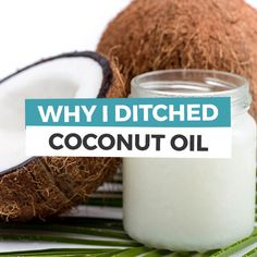 If you've known me for quite sometime, you'd know I'm a big fan of coconut oil. I've always sung its praises. Want to know why I ditched coconut oil?
