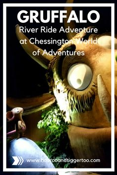 Take a trip on the Gruffalo River Ride Adventure at Chessington World of Adventures.  Step inside the classic Julia Donaldson story and follow the mouse in the search for the perfect nut | Boo Roo and Tigger Too