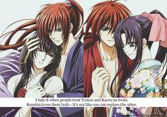 YES ♥X♥ - rurouni-kenshin Photo Kenshin Y Kaoru, Kenshin Anime, Manga Anime, Anime Art, Tomoe, Kenshin Le Vagabond, Era Meiji, Samurai, Bleach Couples