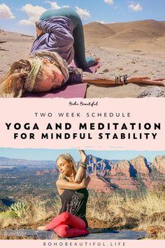 Yoga Flow Sequence, Yoga Sequences, Yoga Poses, Namaste, Free Yoga Classes, Week Schedule, Boho Beautiful, Yoga For Beginners, Beginner Yoga