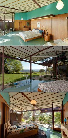 The Walker House (1959) Ojai, CA   Private Residence of MCM designer & builder Rodney Walker (1910-1986)   Mayoral Photography
