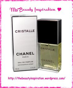 Cristalle by Chanel, my favourite fragrance.