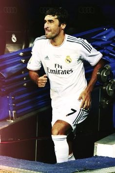 the legend stepping in #Raul #2013