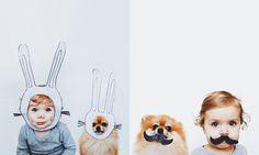 狗狗與小女孩的甜蜜約會:讓你融化的超萌小搭檔 2