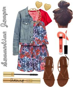 Summertime Jumper, created by greta-boyd on Polyvore