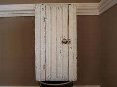 Antique Farmhouse Cupboard by QuirkyAndQuaint on Etsy, $110.00