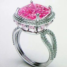 Pink #Vera ring by #Damas #WhatsYourShade
