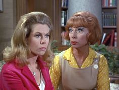 Bewitched, Agnes Moorehead,  Elizabeth Montgomery