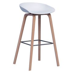 Hay - About a Stool barstol - hvid   1499,-