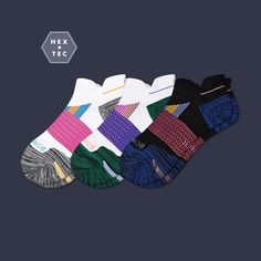 Bombas socks for the athlete who really goes for glory on the court, field or in the gym. Barre Socks, Grip Socks, Calf Socks, Athletic Socks, No Show Socks, Ankle, Running, Stockings