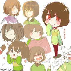 Chara 4 the win Undertale Movie, Undertale Gaster, Undertale Cute, Undertale Fanart, Frisk, Cute Comics, Funny Comics, Underswap, Fan Art