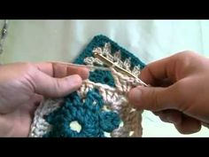 How To Crochet Granny Squares with Circle Centers