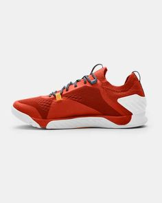 Men's UA TriBase™ Reign 2 Training Shoes, Orange Top Basketball Shoes, Volleyball Shoes, Soccer Training, Training Shoes, Reign, Under Armour Herren, Weight Lifting Shoes, Running Shops, Underwear Shop