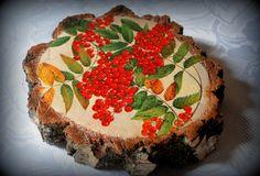Handmade in Jerutki: brzozowe plastry - ciąg dalszy Made by Karolina / wooden art
