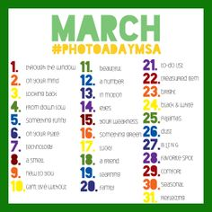 March Photo a Day MSA I'm gonna try this for once and see if I can do it I'm 2days behind but ill get it tomorrow!!!