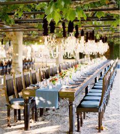 outdoor-vineyard-wedding-reception-ideas Best Ideas For Outdoor wedding Wedding Reception Ideas, Rustic Wedding, Wedding Venues, Reception Table, Wedding Photos, Wedding Tables, Dinner Table, Banquet Tables, Wine Dinner