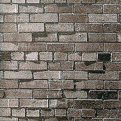 Dark Brown Brick Flat Paper