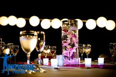 The wedding coordinator will be happy to work with you to create the perfect centerpiece to fit your vision #BreathlessCaboSanLucas