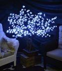 albero a led bonsai  dimensioni altezza mt 1,20 larghezza cm 90 consumo 23 w - 220v uso esterno tronco in resina