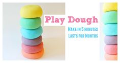 EASY to make, LASTS for months, CHEAP and FUN!
