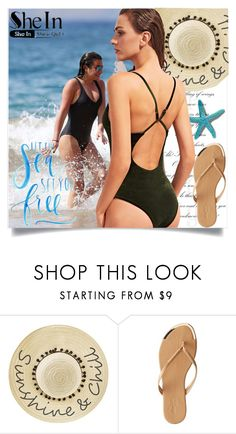 """Green Swimwear"" by deni1977 ❤ liked on Polyvore featuring Betsey Johnson and Charlotte Russe"