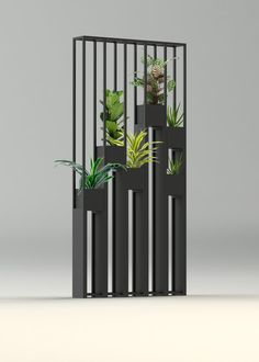 Greentower, claustra en métal pour séparer vos pièces ou jardins...