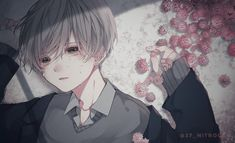 Cool Anime Guys, Cute Anime Boy, Character Creation, Character Art, Korean Anime, Boy Illustration, Gothic Anime, Cute Profile Pictures, Anime Oc
