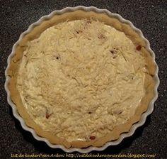 Uit de keuken van Levine: Recept Quiche met spek en kaas Quiche Lorraine, Pie, Desserts, Food, Torte, Tailgate Desserts, Cake, Deserts, Fruit Cakes
