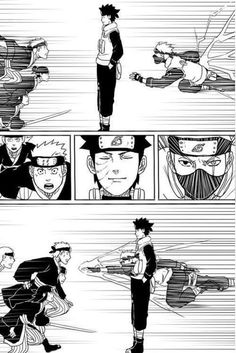 What they could have been- Obito & Kakashi. If only Obito hadn't gone down that path. Naruto Kakashi, Anime Naruto, Naruto Comic, Naruto Cute, Naruto Shippuden Anime, Team Minato, Funny Naruto Memes, Naruto Series, Naruto Pictures