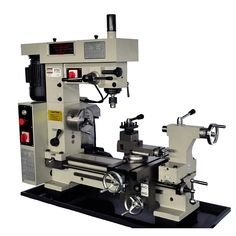 """16"""" x 20"""" Combo Metal Lathe Mill Drill 