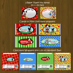 Mickey Mouse Clubhouse Printable Birthday by SplashboxPrintables, $27.00