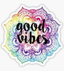 Good Vibes - Mandala Sticker