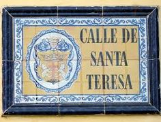 Travel With MWT The Wolf: World Famous Streets   Calle de Santa Teresa Carta...