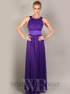 22edc9ff6b7 2017 O neck Off The Shoulderf Pleats Floor Length Purple Convertible Bridesmaid  Dress A Line Chiffon Sparkly Bridesmaid Dresses-in Bridesmaid Dresses from  ...
