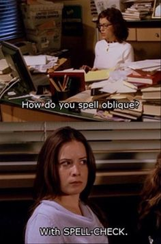 """I love """"Charmed"""" and they always have some funny moments. Funny Pictures Of The Day - 86 Pics Serie Charmed, Charmed Tv Show, Charmed Quotes, Charmed Spells, Harry Potter, Morning Humor, Just For Laughs, Best Tv, Movie Quotes"""