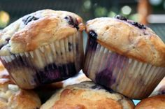 Food and Garden Dailies: Perfect Blueberry Muffins (Cook's Illustrated)