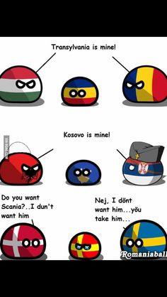 Well yes? Funny Cartoon Memes, Crazy Funny Memes, Haha Funny, Funny Jokes, Hetalia, History Memes, Fun Comics, Best Funny Pictures, Romania