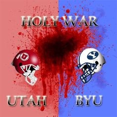 """Utah vs BYU = Holy War  - MormonFavorites.com  """"I cannot believe how many LDS resources I found... It's about time someone thought of this!""""   - MormonFavorites.com"""