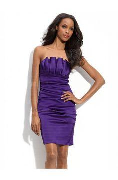 purple dress #purple #party #women #fashion #dresses