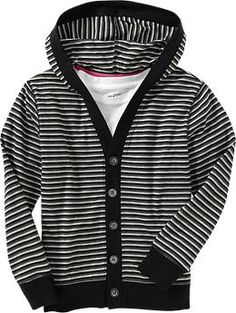 Boys Striped-Hooded Cardigans   Old Navy