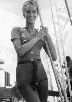 Marisa Berenson. Photo by Patrick Lichfield, 1970.