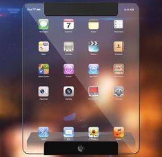 Transparent Apple iPad Concept 1