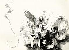 Alice in Wonderland Illustrated by Ralph Steadman: steadman_alice5.jpg