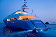 luxury yacht...
