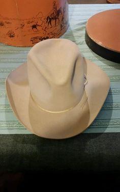 Stetson Cowboy Hat Size 7 1 4 with Original Box  1ea67e6b6fd5