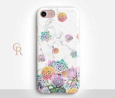 Succulent Phone Case For iPhone 8 iPhone 8 Plus iPhone X