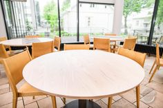 Light Modern Warm Restaurant Interior Design Light but warm restaurant furniture. Custom made Room deviders and tables from solid ash wood. Restaurant Furniture, Restaurant Interior Design, Room Deviders, Rustic Interiors, Wooden Furniture, Modern Lighting, Ash, Tables, Dining Table