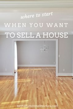 Bethany Mitchell Homes: Where to Start When You Want To Sell A House // She also helps you find a great Realtor in your area!