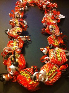 Adult Giants Colors Reese's Candy Lei by IslandCandyLeis on Etsy